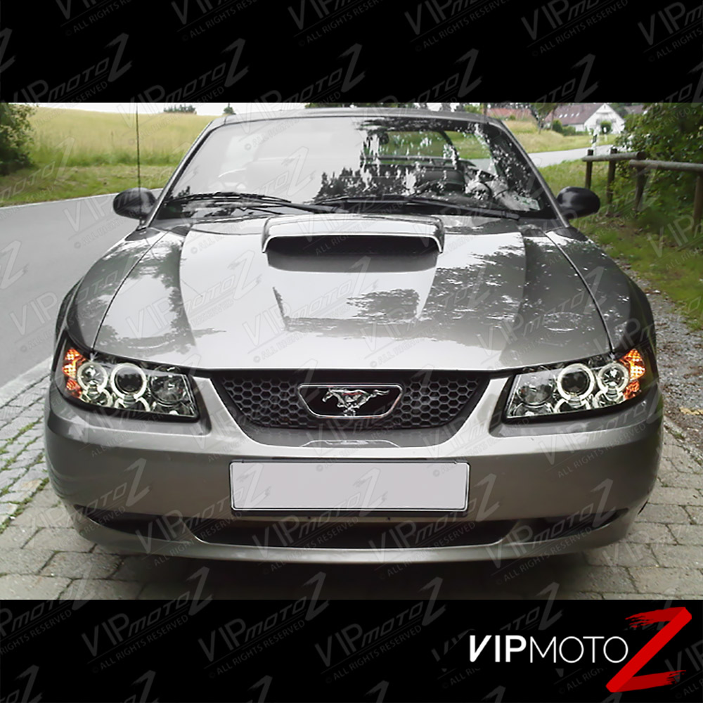 1999 2004 ford mustang v8 v6 gt 5 0 smoke halo led. Black Bedroom Furniture Sets. Home Design Ideas