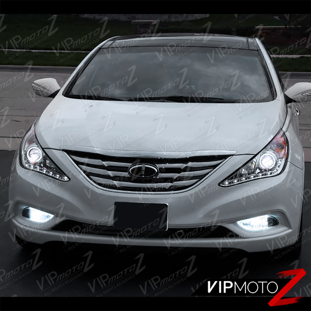 Hyundai Sonata Gls 2014: 2011-2014 SONATA Halo Angel Eye [SMOKE LEN] Projector