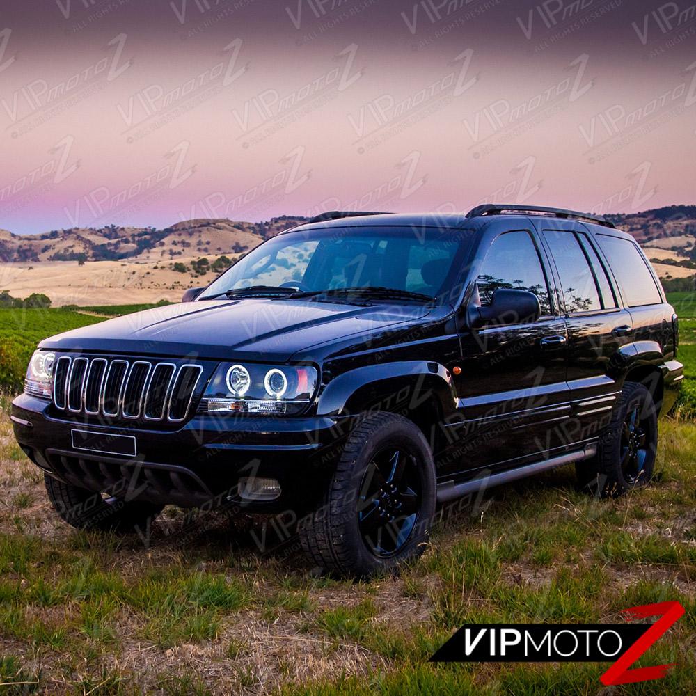 1999 2004 jeep grand cherokee wj wg black
