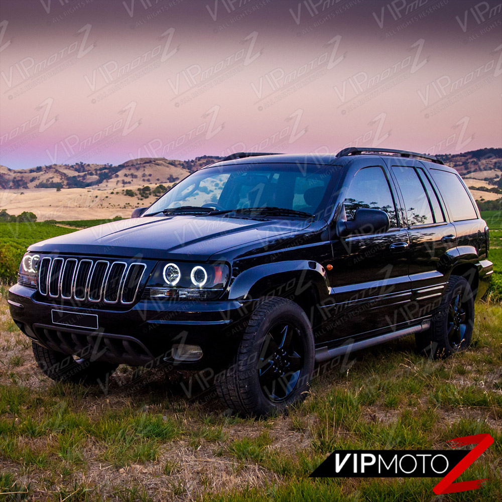 limited sinister black 1999 2004 jeep grand cherokee wj. Black Bedroom Furniture Sets. Home Design Ideas