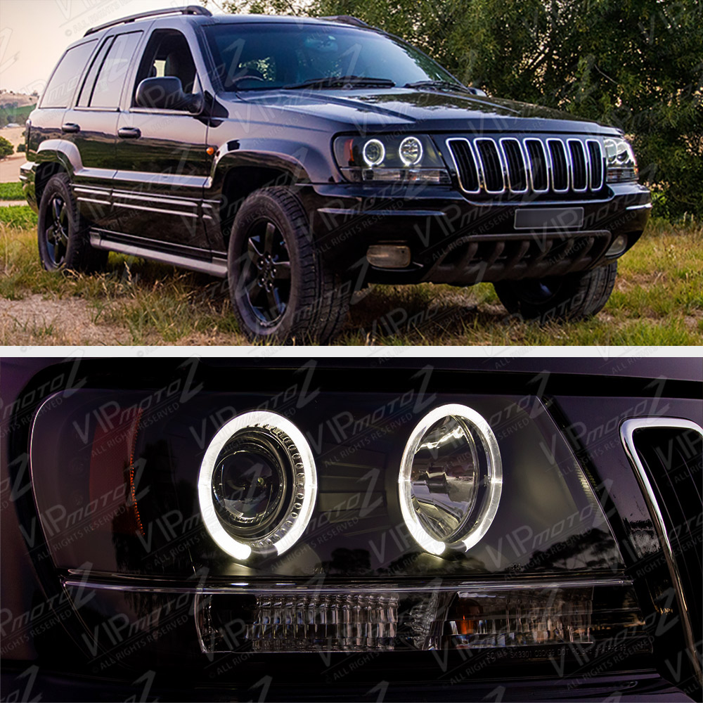 [LIMITED SINISTER BLACK] 1999-2004 Jeep Grand Cherokee WJ ...
