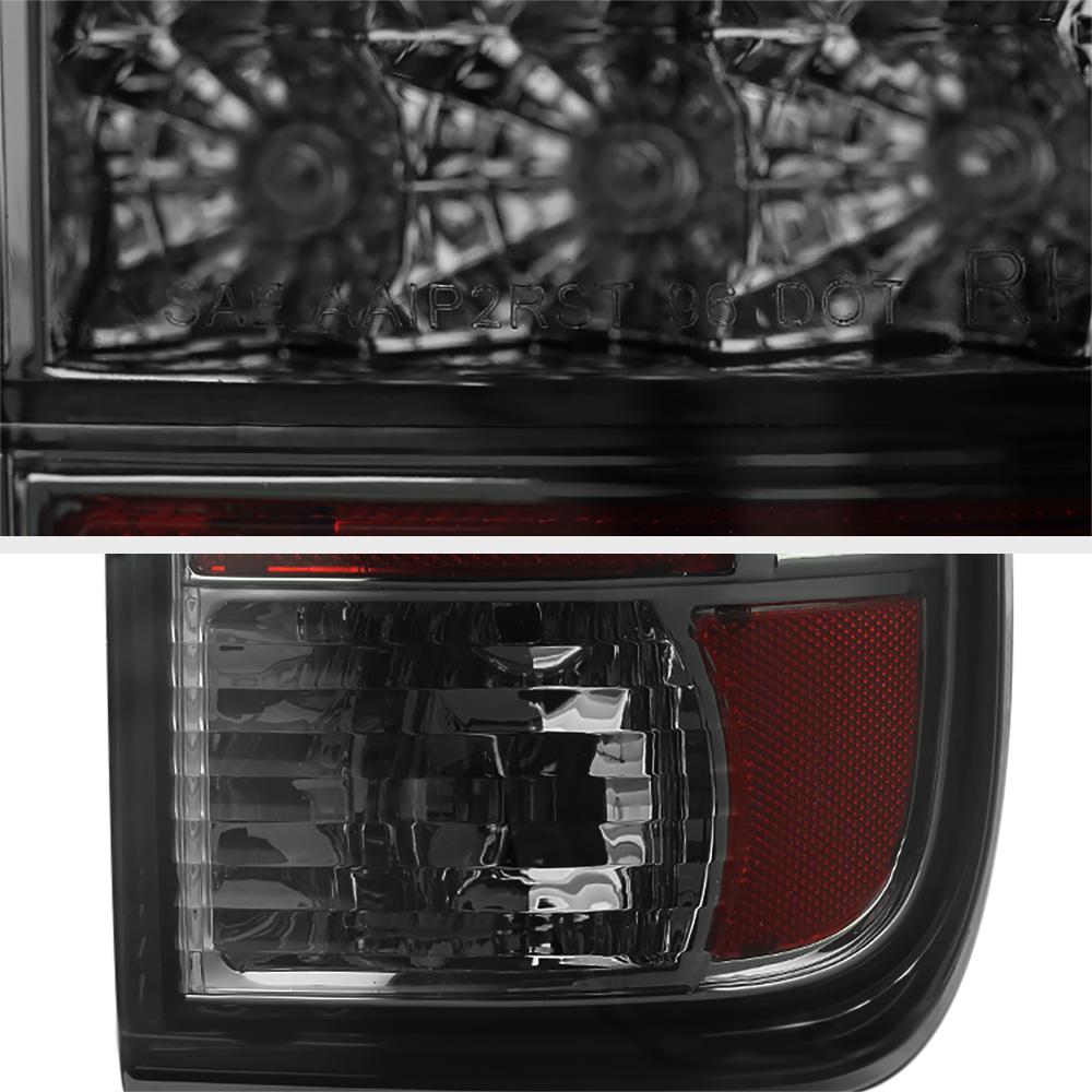 2008 2016 ford f250 f350 superduty smd led smoke tail. Black Bedroom Furniture Sets. Home Design Ideas