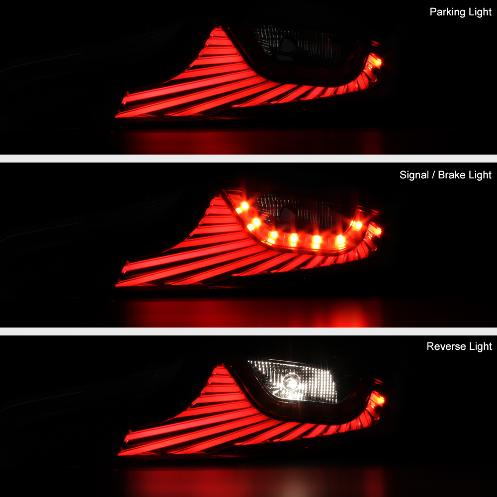 Quot Latest Design Quot Sinister Black Led Tail Lights For 2006