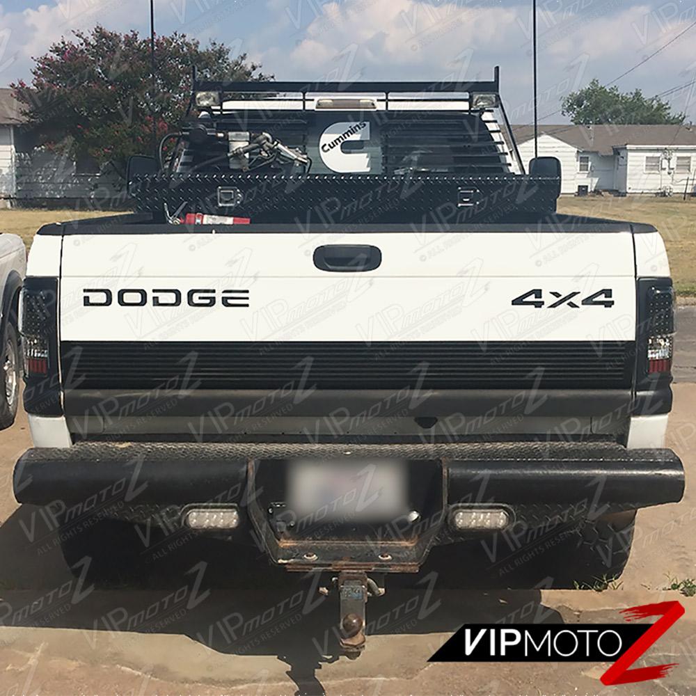 1994-2001 Dodge Ram 1500 [THE BEST] Black LED Taillight