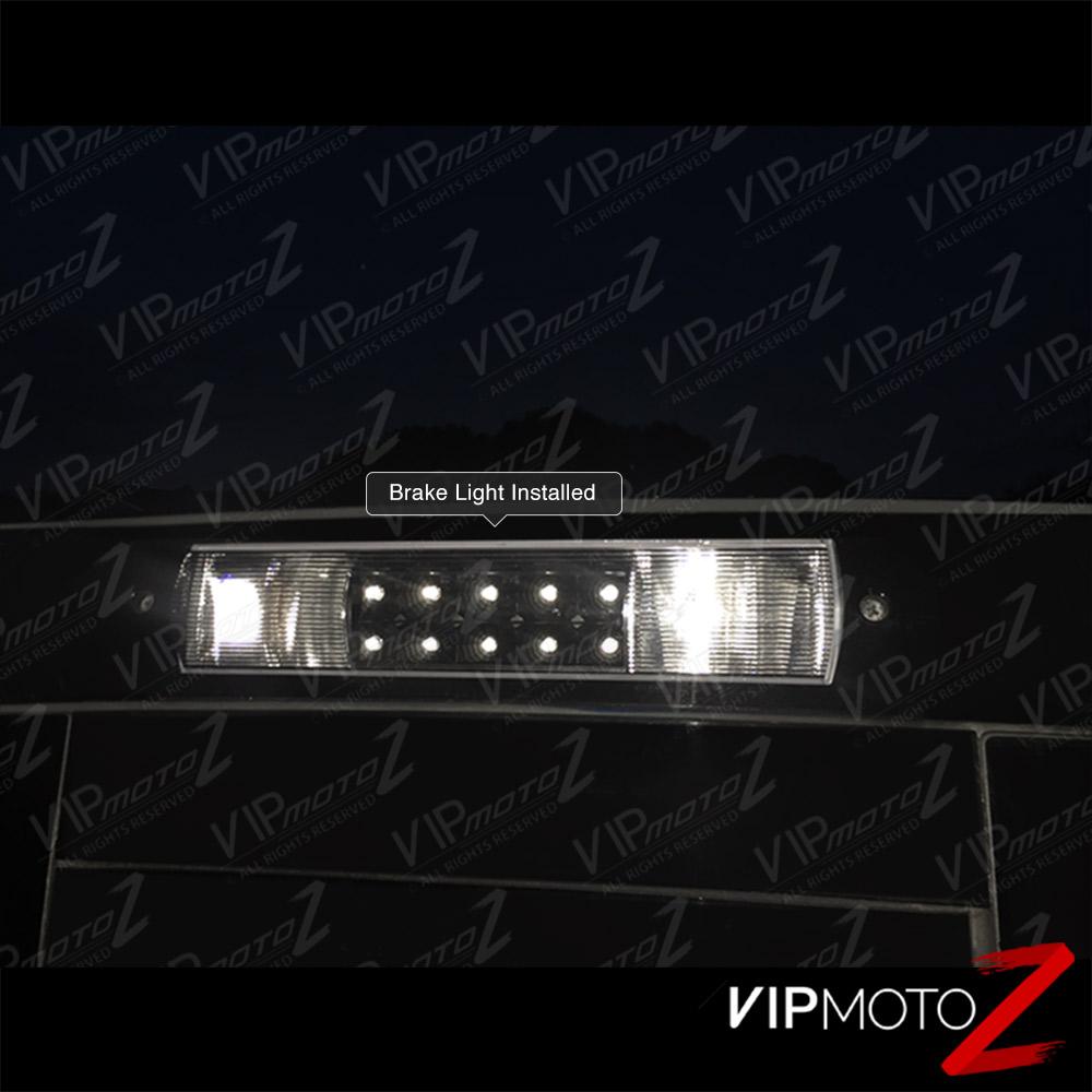 2002-2008 Dodge Ram 1500 2500 3500 LED Black 3rd Brake