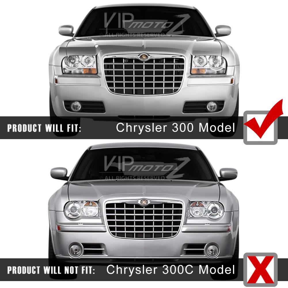 2005-2010 Chrysler 300 Factory Style Chrome Front LEFT