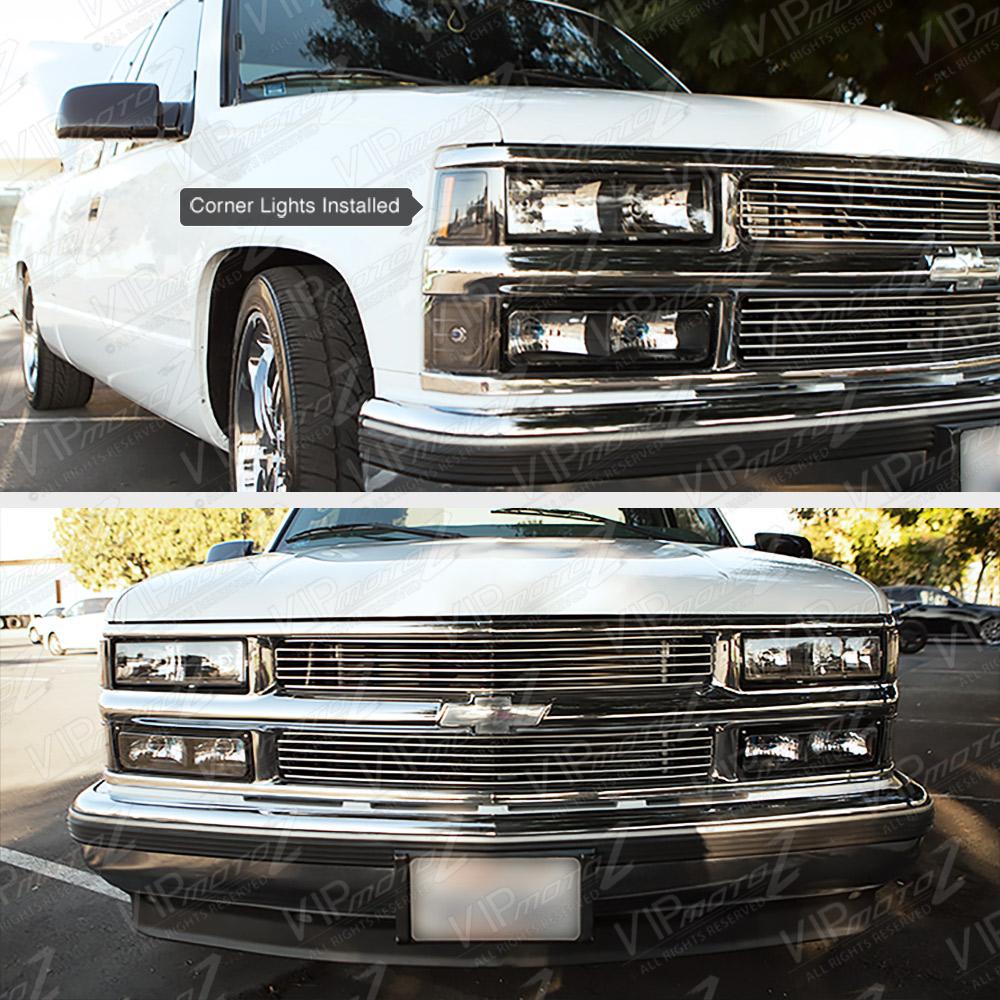 1994-1998 Chevy Silverado Suburban Tahoe Red Smoke LED