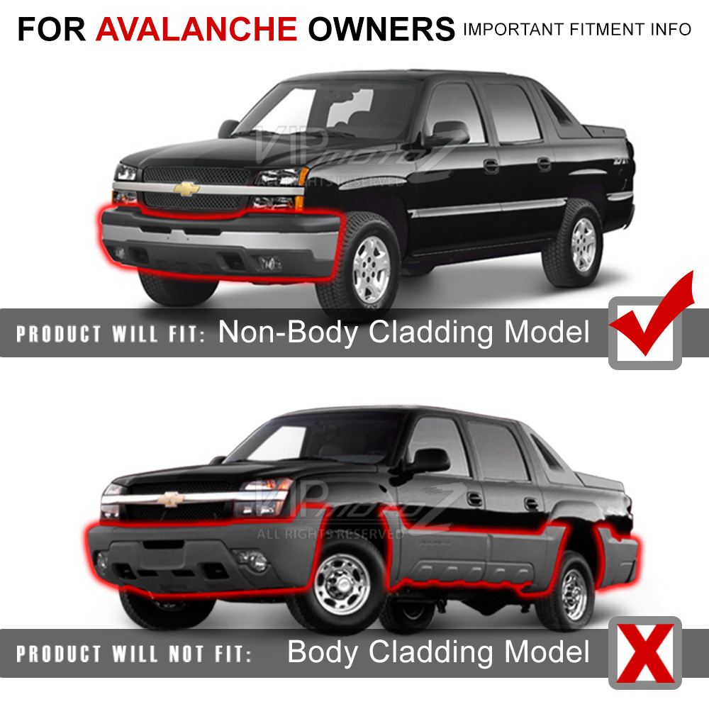 2003 2006 chevy silverado factory style 03 05 avalanche. Black Bedroom Furniture Sets. Home Design Ideas