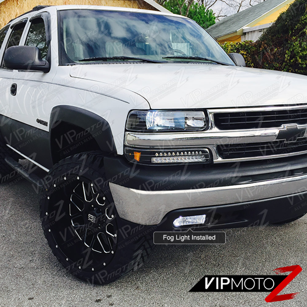 00-06 Chevy Suburban/Tahoe 1500/2500 Clear Replacement Fog