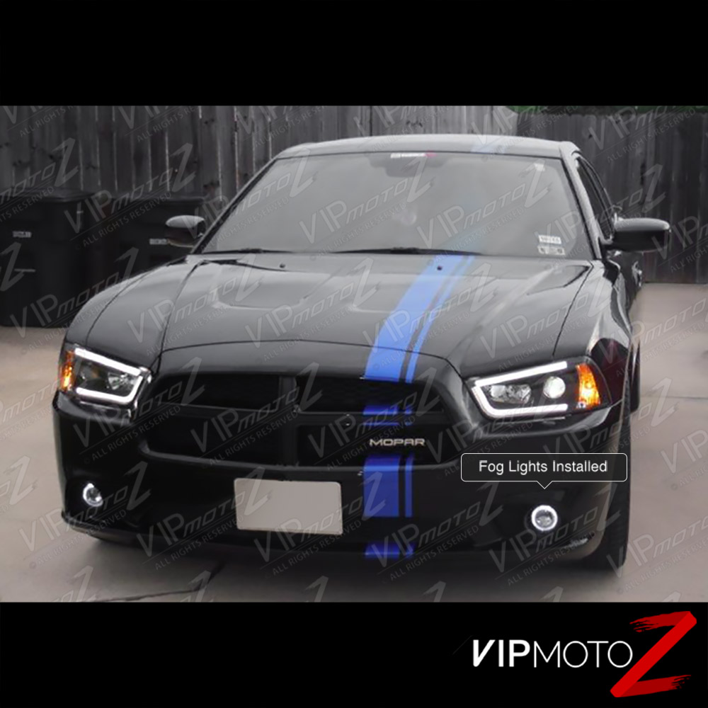 2011 2014 dodge charger front bumper projector fog light. Black Bedroom Furniture Sets. Home Design Ideas