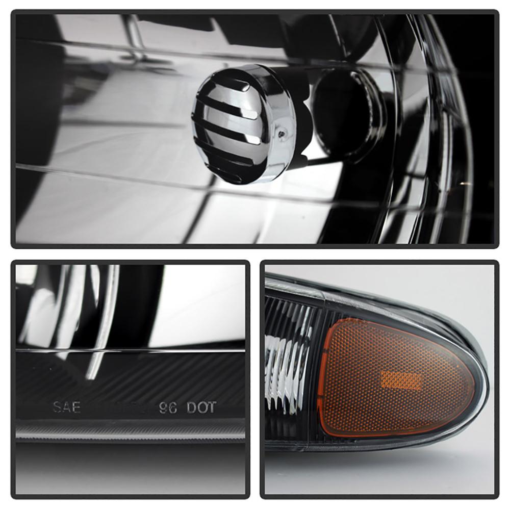 99 Buick Regal Gs: 1997-2005 Buick Regal LS GS Century Black LEFT+RIGHT