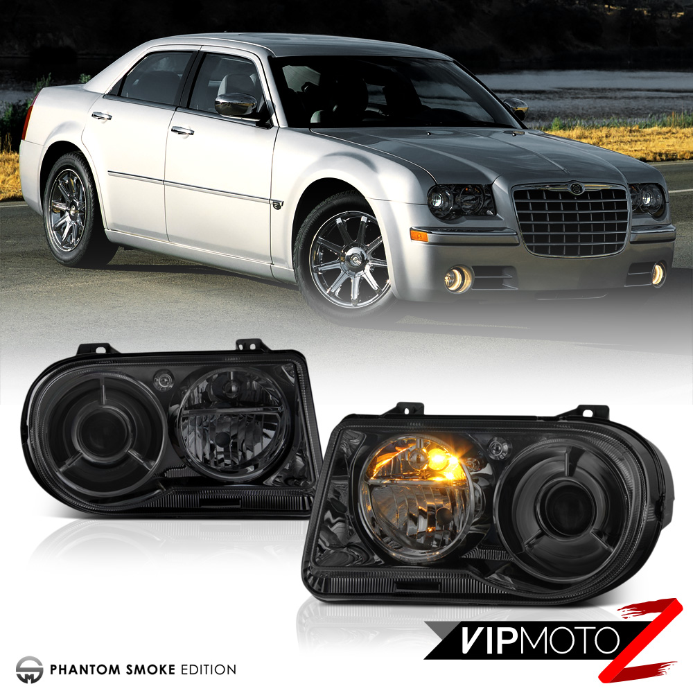 """2005-2010 Chrysler 300C """"SMOKE PROJECTOR"""" Pair LEFT RIGHT"""