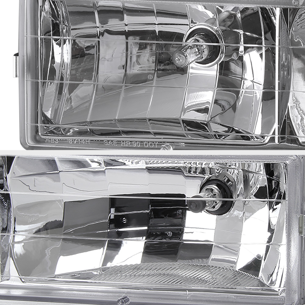 1994 1998 Chevy Silverado Suburban Tahoe Ck Chrome Bumper Signal Headlight Lamps Cad 87 24