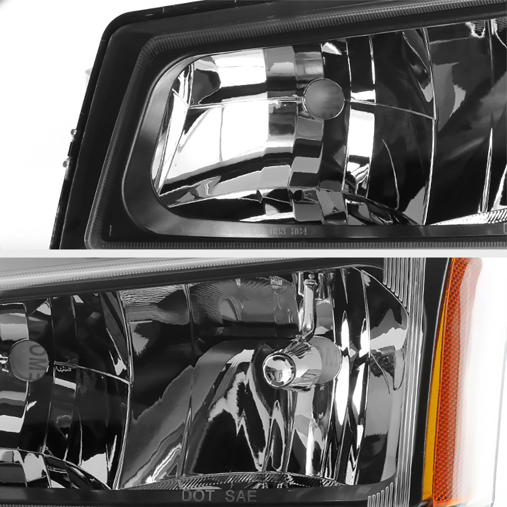 2003-2006 Chevy Silverado Avalanche 1500 2500 3500 Black