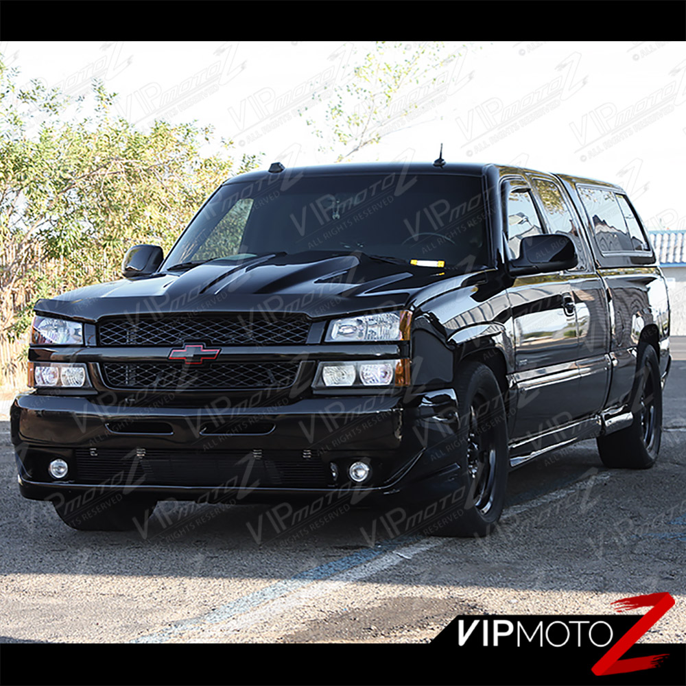 2003 2006 chevy silverado avalanche black factory style headlight headlamp new ebay. Black Bedroom Furniture Sets. Home Design Ideas