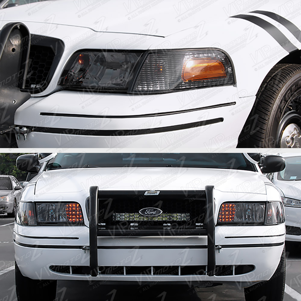 1998-2011 Ford Crown Victoria Front LEFT+RIGHT Headlight