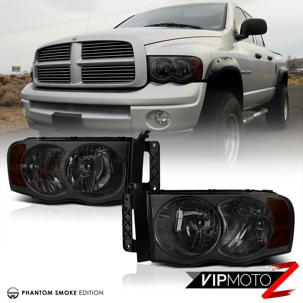 05 Dodge Ram: Titanium Smoke 02-05 Dodge Ram 1500 Truck New Pair