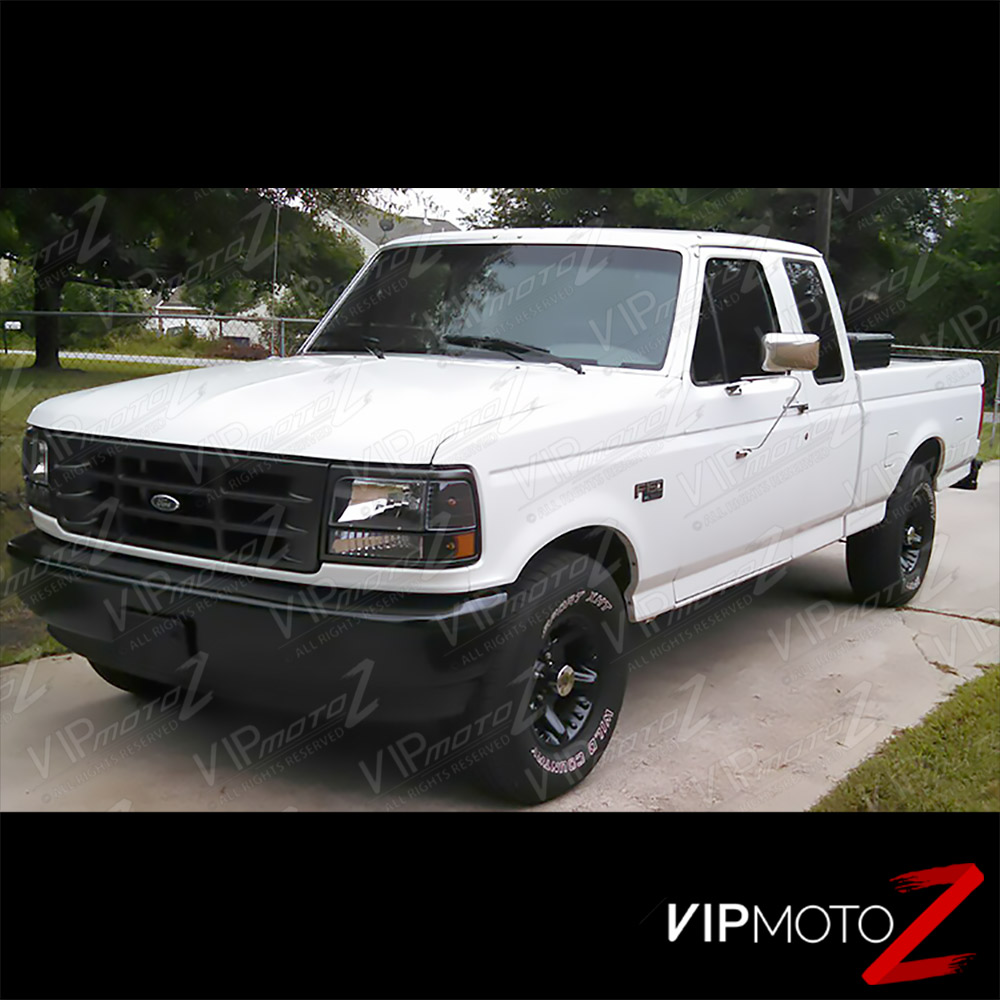 Hd Jh Fb Set Am Bk Install on 1996 Ford F 150 Front Bumper
