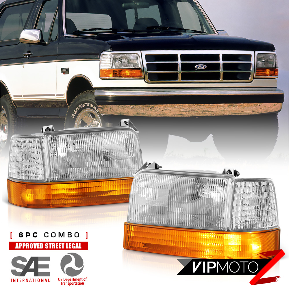 [FACTORY STYLE 6PC] 1992-1996 Ford Bronco F150 F250 F350