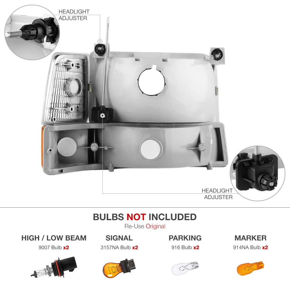 Service Manual Remove Assembly Headlight 2009 Ford F350 Ford F250 Replace Headlight Assembly