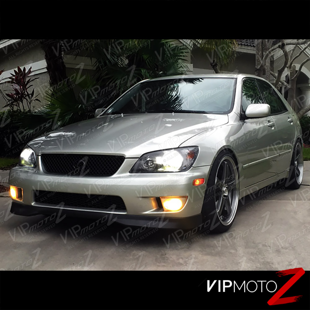 2001 2005 lexus is300 jdm crystal black front headlights. Black Bedroom Furniture Sets. Home Design Ideas