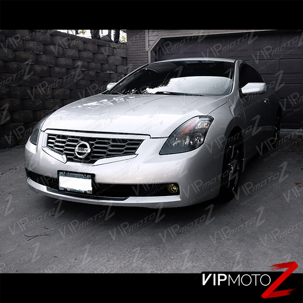 For 2008 2009 Altima Coupe S Se 2d Black Headlights Left Right Driver Passenger Ebay