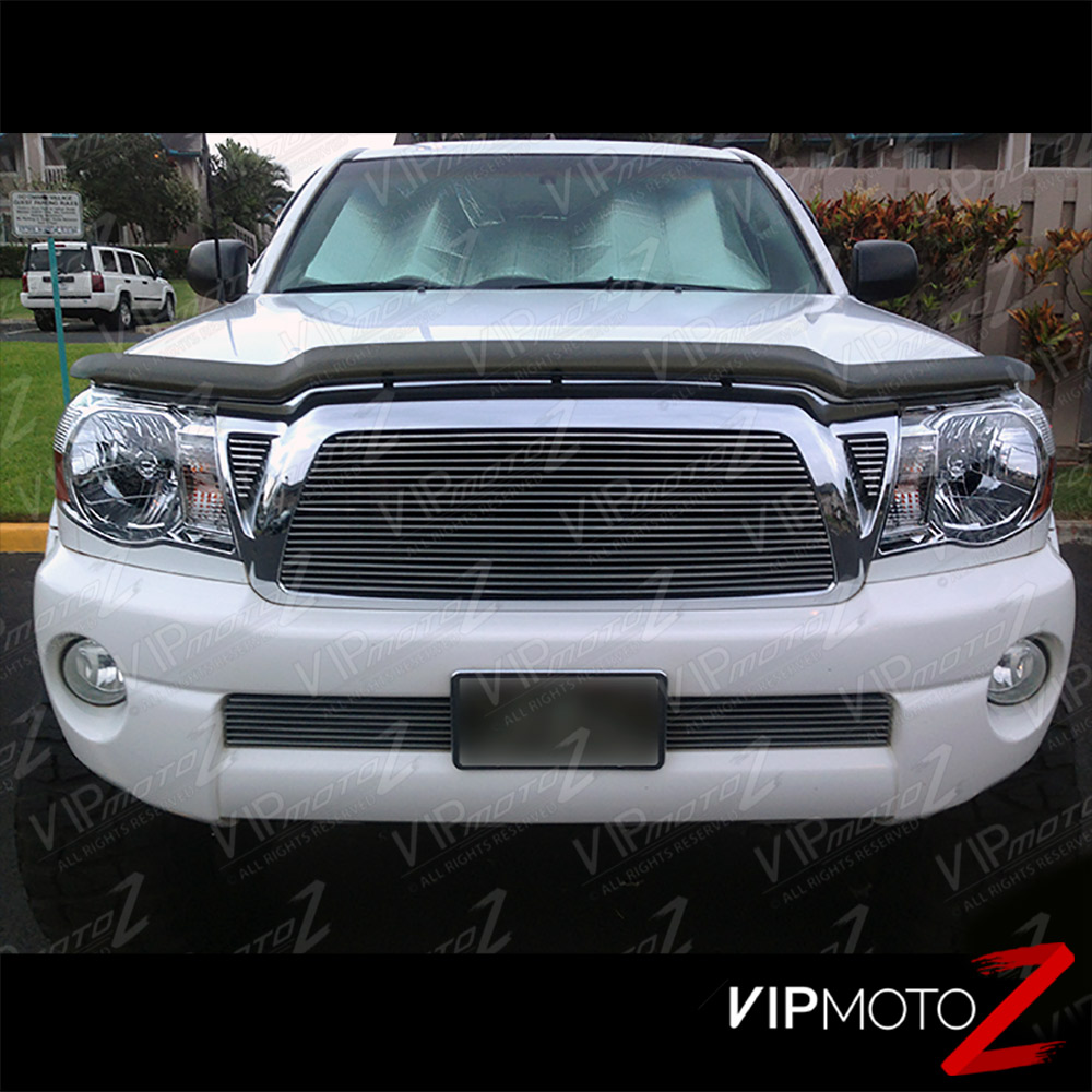 2005 2011 toyota tacoma factory style crystal chrome headlights left right ebay. Black Bedroom Furniture Sets. Home Design Ideas