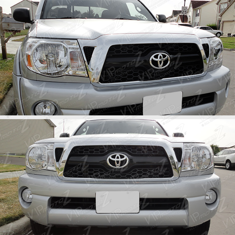 2005 2011 toyota tacoma factory style crystal chrome. Black Bedroom Furniture Sets. Home Design Ideas