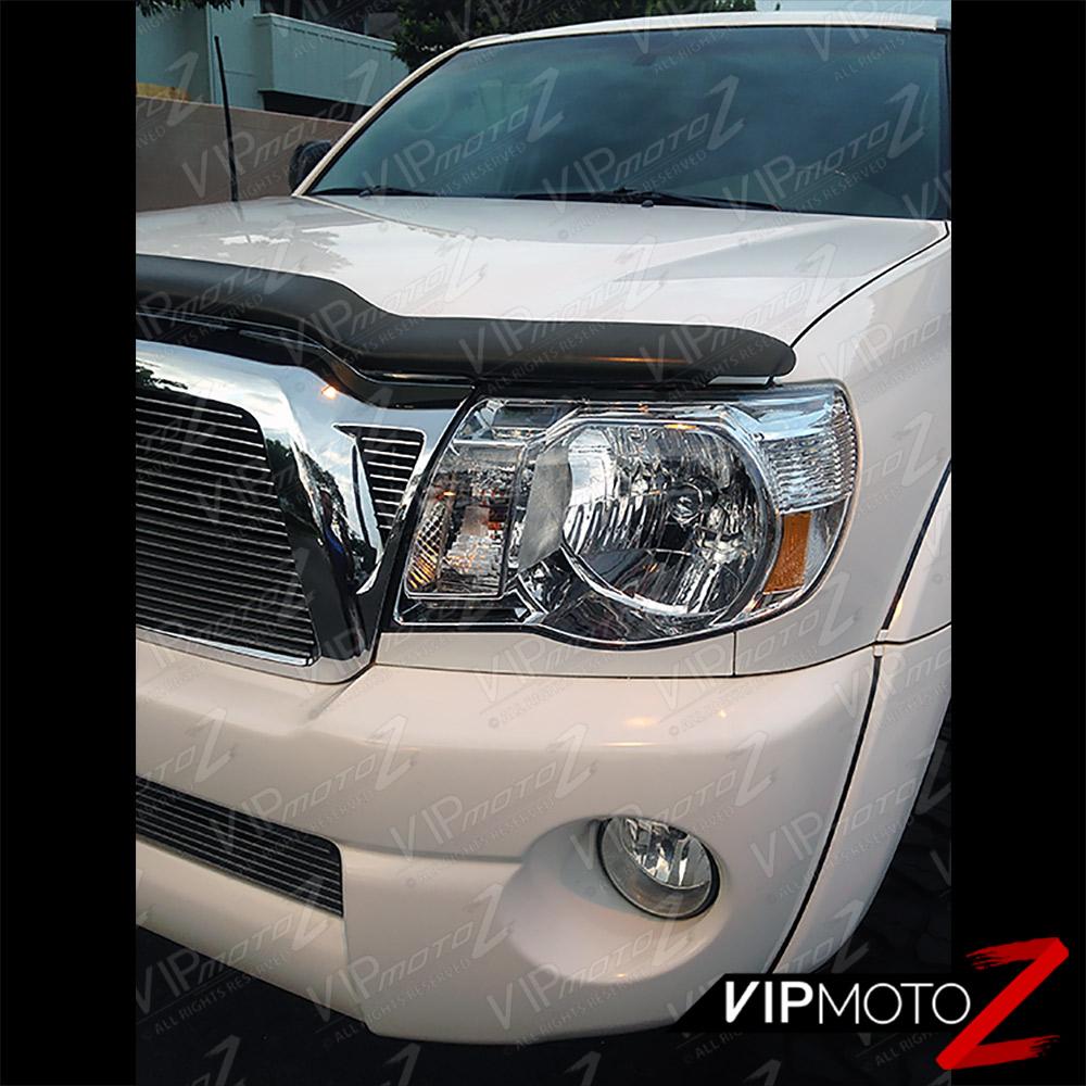 """Toyota Tacoma Headlights: 2005-2011 Toyota Tacoma """"FACTORY STYLE"""" Crystal Chrome"""