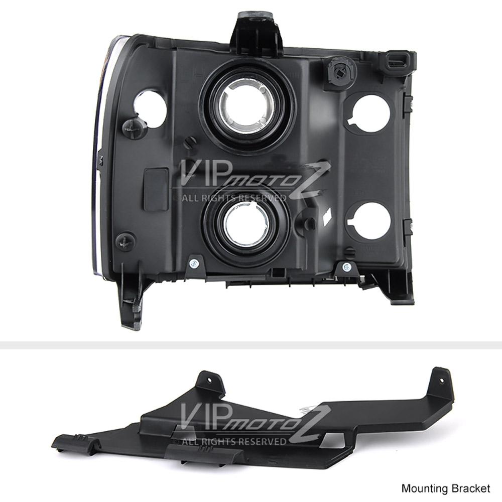 2007-2013 GMC Sierra 1500 2500HD 3500HD Black Front