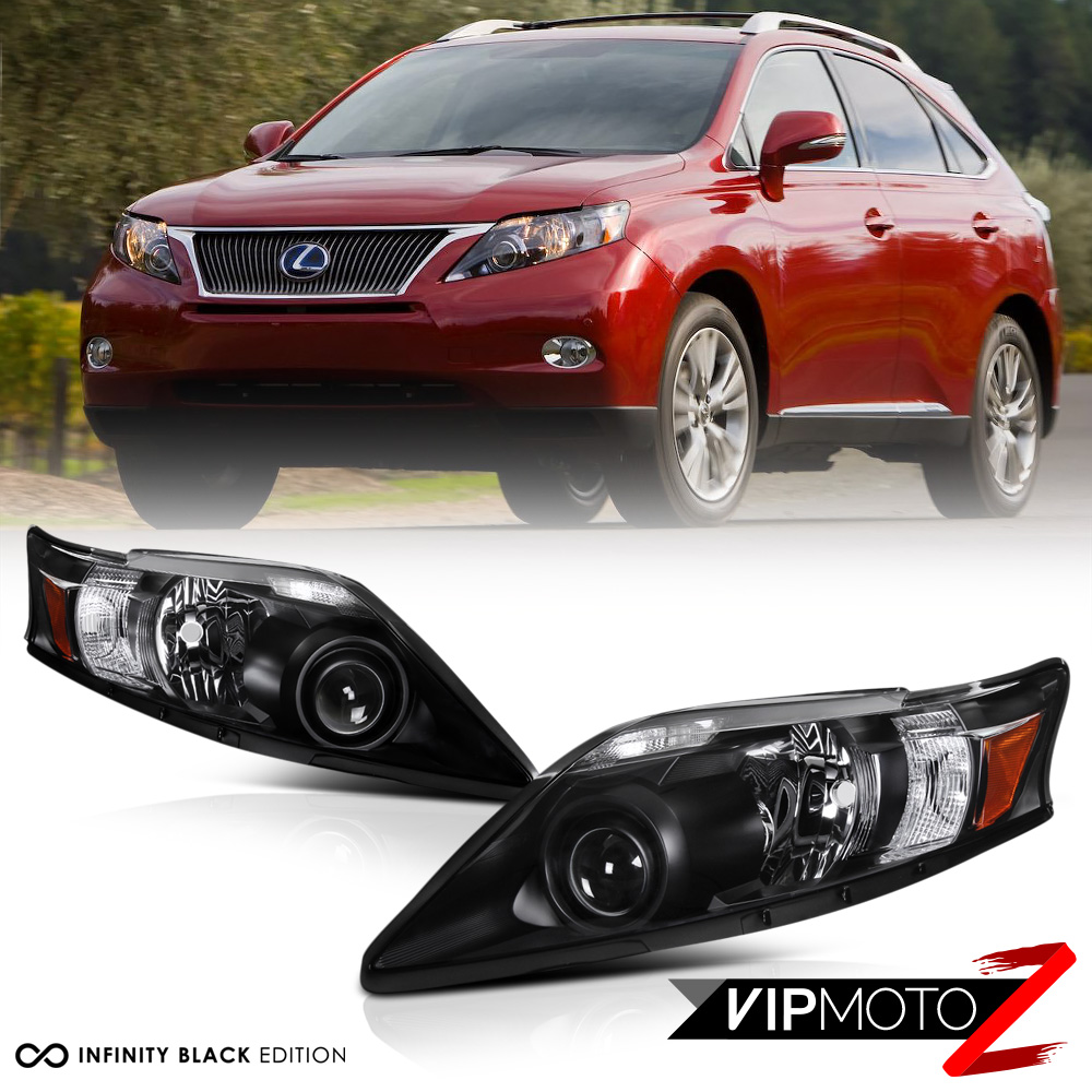 2010 2012 lexus rx350 rx 350 black d4s xenon adaptive. Black Bedroom Furniture Sets. Home Design Ideas