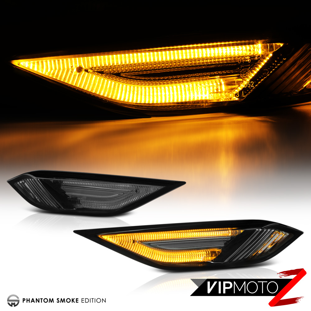 Image is loading smoked lens 2011 2014 porsche cayenne 958 led