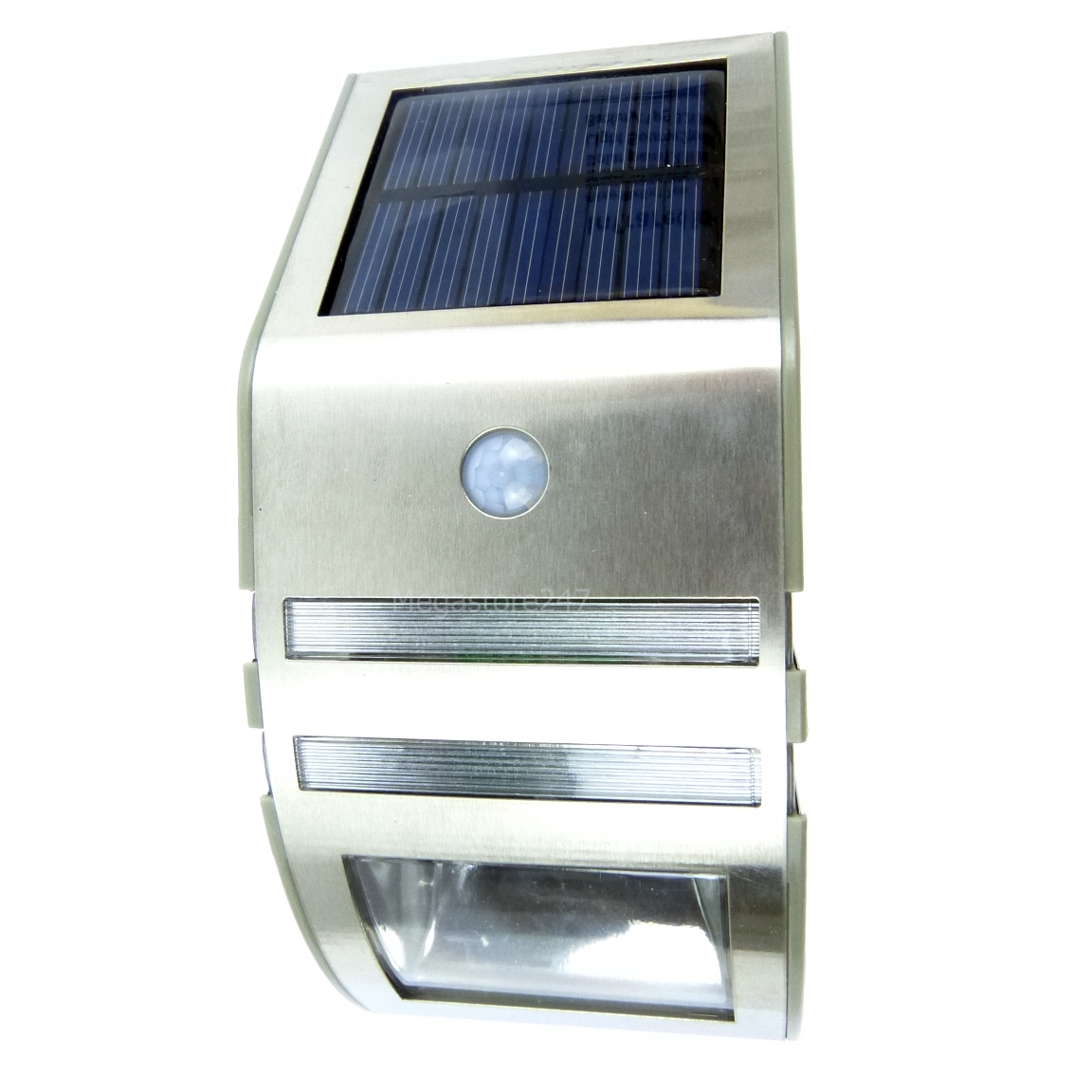 hyfive led solar motion sensor pir detection. Black Bedroom Furniture Sets. Home Design Ideas