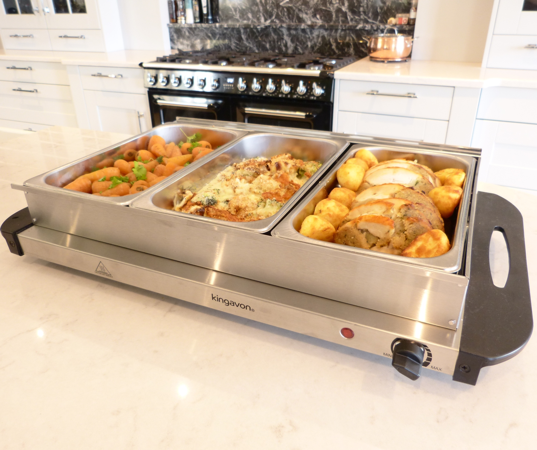Food Warmers Buffet ~ Kingavon hot buffet server and warming tray pan