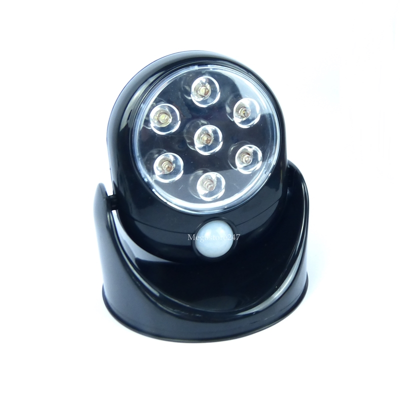 motion sensor security light cordless led light indoor ebay. Black Bedroom Furniture Sets. Home Design Ideas