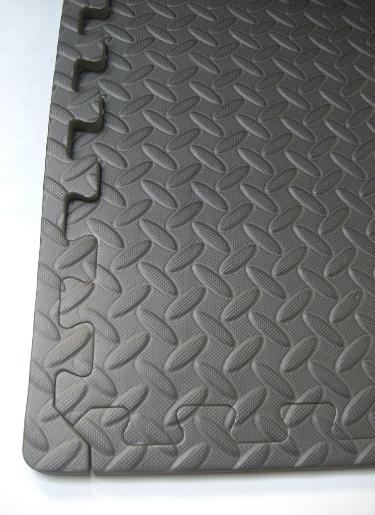 Interlocking Floor Tiles Black Eva Foam Gym Mats Soft Play