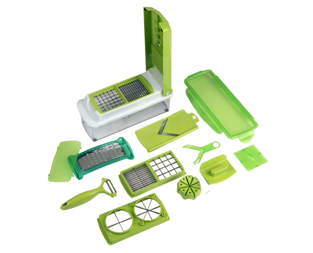 Evelots 11 Piece Multi Chopper Vegetable Cutting Dicing Slicing Kitchen Gadget - Evelots at Sears.com