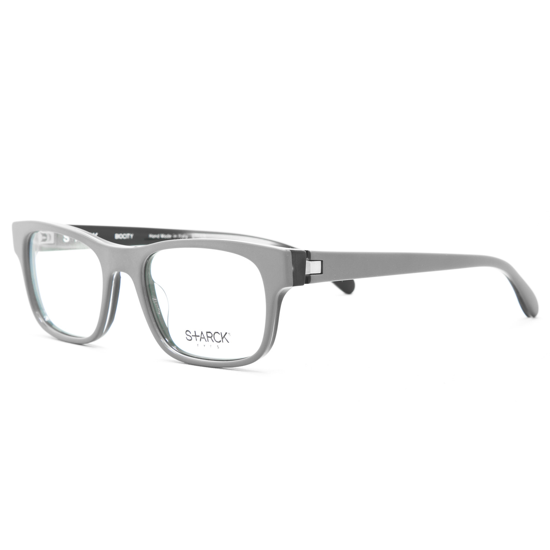 starck prescription eyeglasses sh 3010 0006 grey