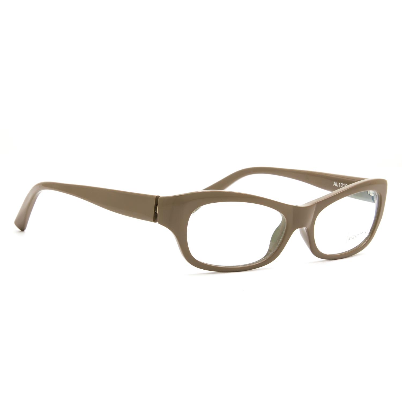 alain mikli eyeglasses al 1010 0002 beige frame rx clear