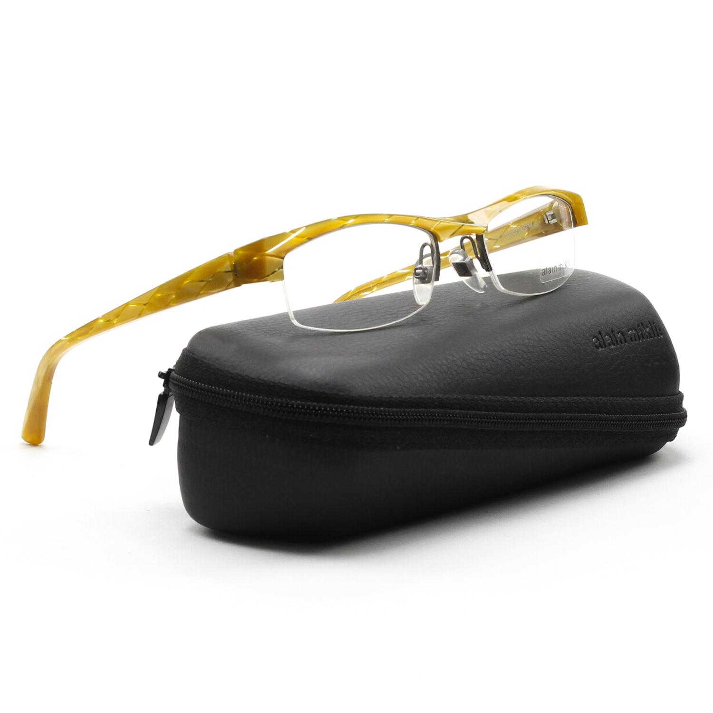 Eyeglass Frames With Diamonds : Alain Mikli AL0831 Eyeglasses Translucent Yellow Gold ...