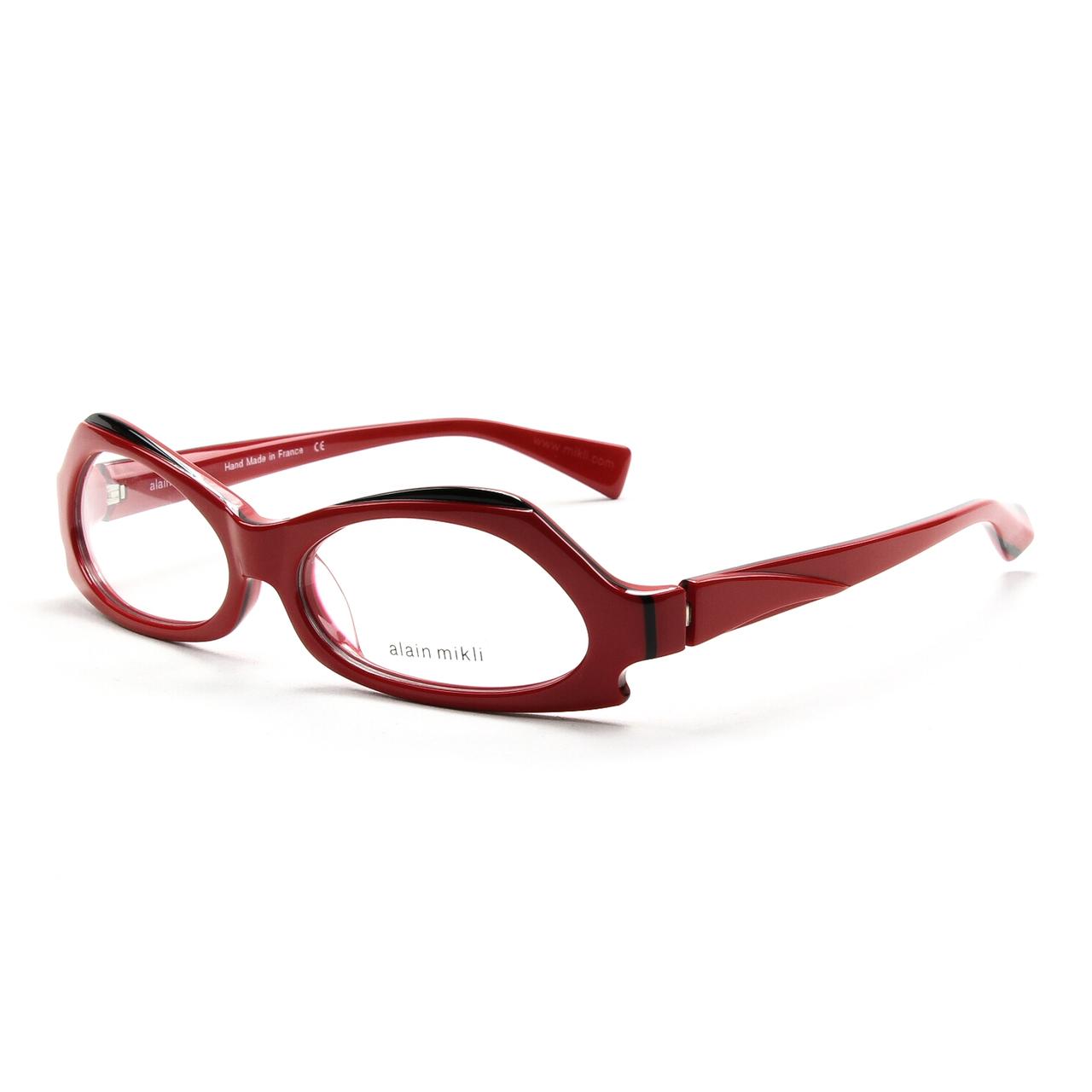Alain Mikli AL 1019 Womens Eyeglasses 0001 Red Frame ...