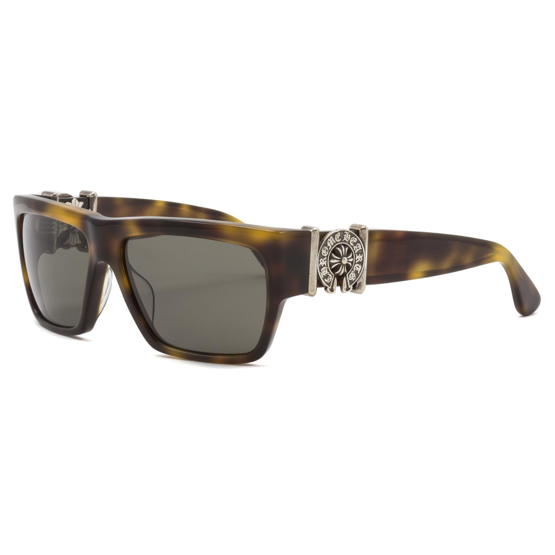 4e8b4c2696 Chrome Hearts Monster Sunglasses Butterscotch Tortoise Brown   Dark Grey  Lenses