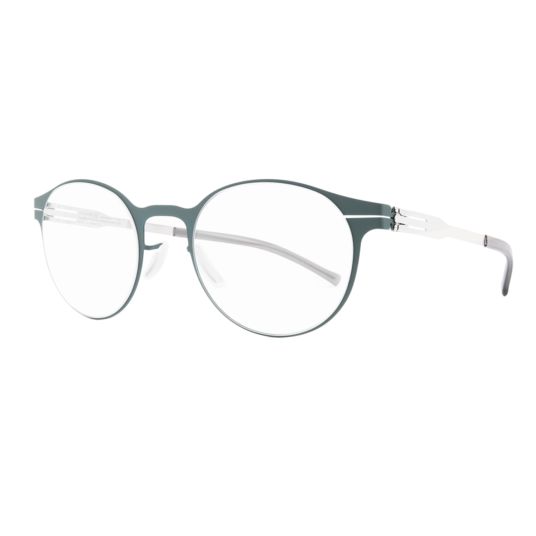 Aqua Blue Glasses Frames : ic! Berlin 125 Foxweg Eyeglasses Aqua Blue Green Frame ...
