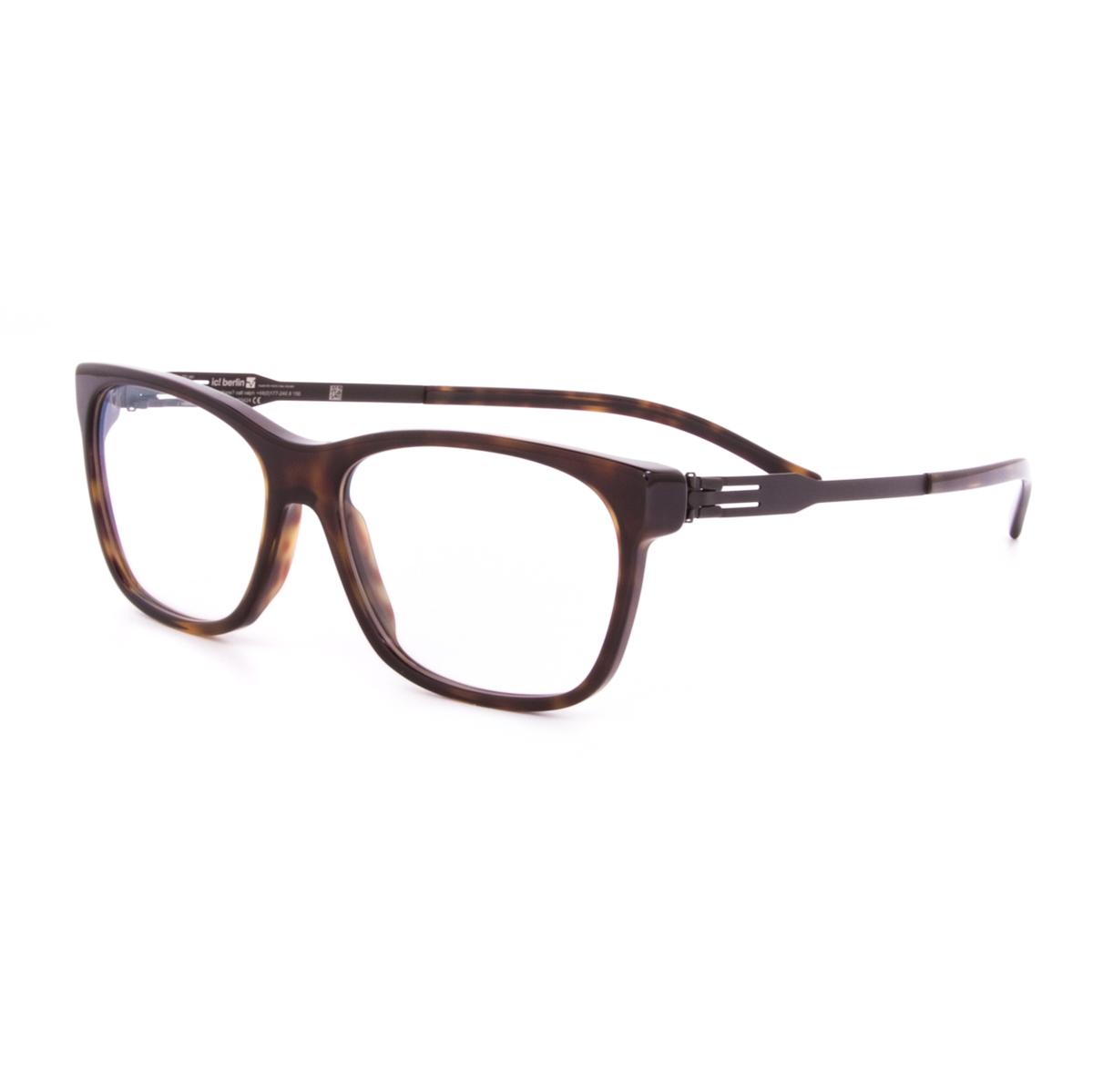 Ic Berlin Eyeglasses Frames Model Wissam : ic! Berlin Nadine A. Eyeglasses Brown Havanna Black / RX ...