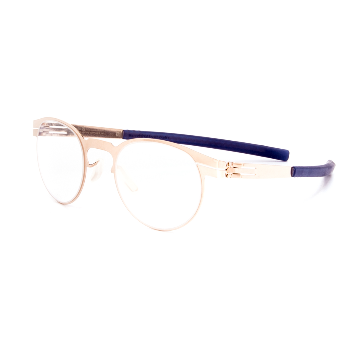 ic! Berlin Ofen Eyeglasses Rose Gold Frame / RX Clear Demo ...