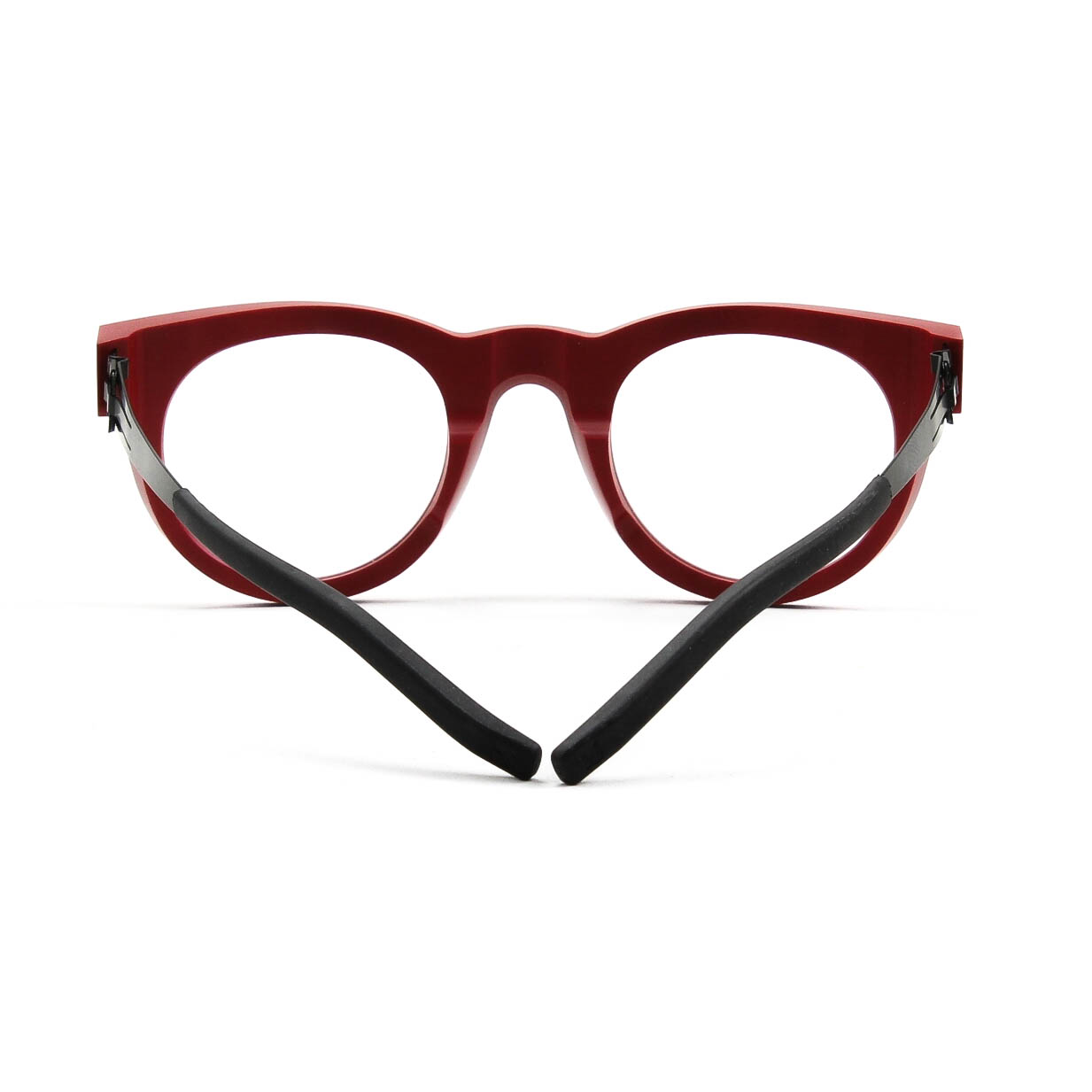 ic! berlin A0917 Nameless 17 Eyeglasses Just Red Rough ...