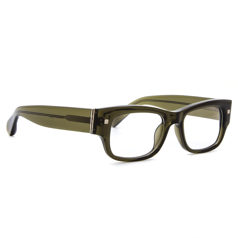 Linda Farrow Luxe 24 Eyeglasses C13 Transparent Olive ...