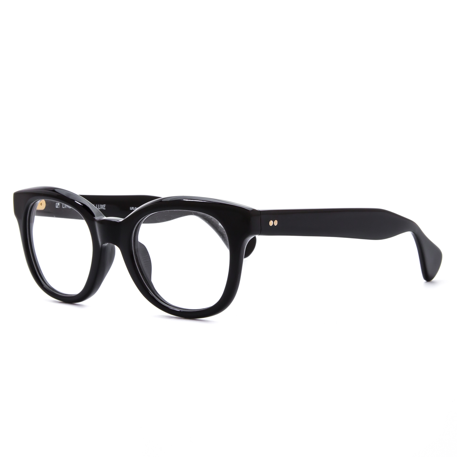 farrow luxe 54 vintage style eyeglasses polished