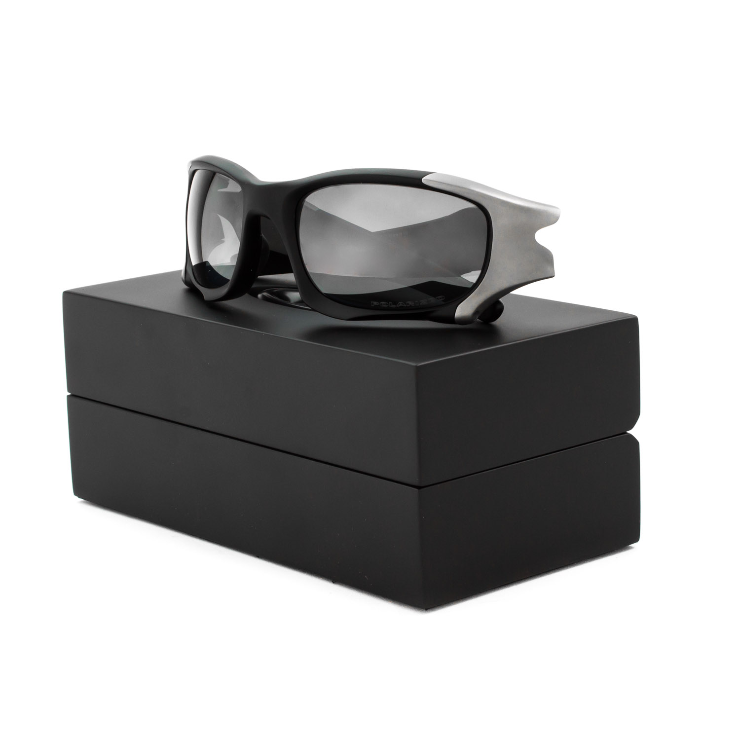 oakley pit boss ygx9  Oakley Pit Boss II Sunglasses OO9137-01 Matte Black / Black Iridium  Polarized