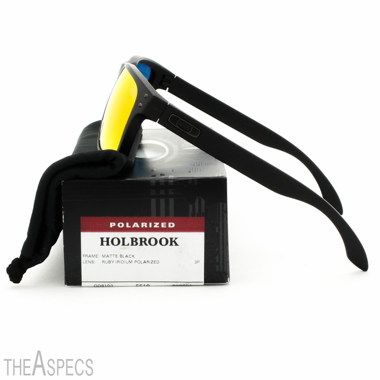 oakley holbrook polished clear chrome iridium  oakley holbrook sunglasses